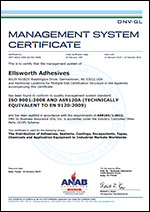 AS9120 Certification Certificate