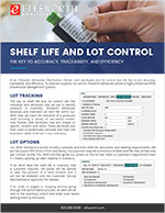 Shelf Life and Lot Control Flyer