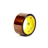 3M 5419 Low Static Polyimide Film Tape Gold 1.75 in x 36 yd Roll