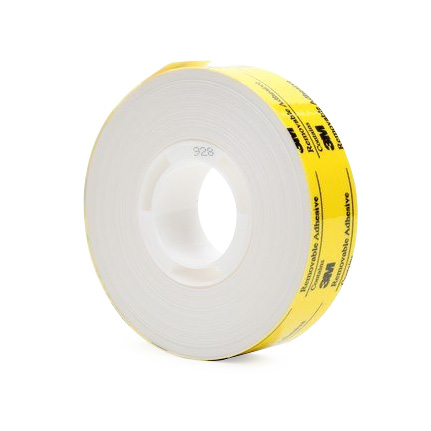 3m Scotch Atg 928 Double Sided Tape White 0 5 In X 18 Yd Roll