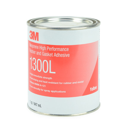 3M 1300L Neoprene High Performance Rubber and Gasket Ad