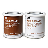 3M Scotch-Weld 1838 Epoxy Adhesive Green 1 qt Can Kit