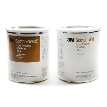 3M Scotch-Weld 2216 Epoxy Adhesive Gray 1 gal Can Kit