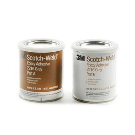 3M Scotch-Weld 2216 Epoxy Adhesive Gray 1 pt Can Kit