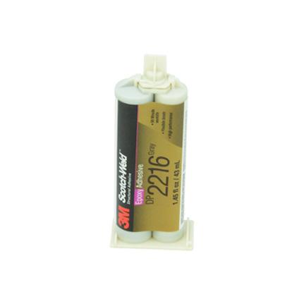 3M Scotch-Weld DP2216 Epoxy Adhesive Gray 43 mL Duo-Pak Cartridge
