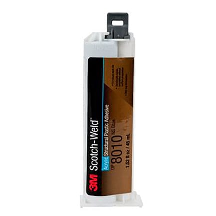 3M Scotch-Weld DP8010NS Structural Plastic Adhesive Blue 45 mL Cartridge