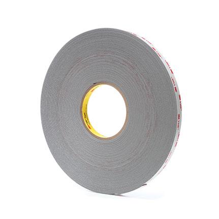 Pack of 1 4941-Gray-1//2inx36yd-VHB Acrylic Foam Tape 4941 Gray 1//2in x 36yd