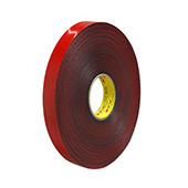 3M VHB Tape 4646 Dark Gray 1 in x 72 yd Roll