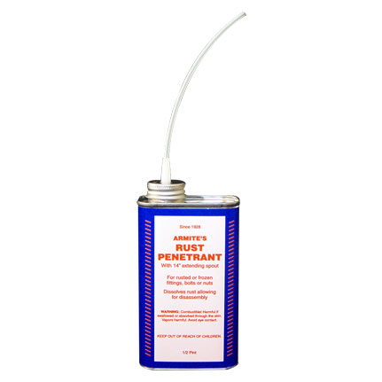 Armite Lubricants 1001 Rust Penetrant 0.5 pt Can