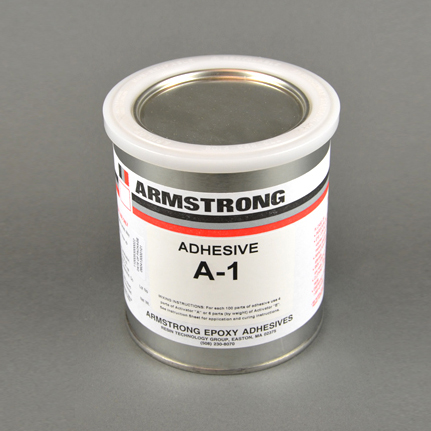 Armstrong A-1 Epoxy Adhesive Resin Part A Red-Brown 1 qt Can
