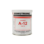 Armstrong A-12T Epoxy Adhesive Resin Part A Brown 1 pt Can