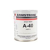 Armstrong A-40 Epoxy Adhesive Resin Part A Gray 1 pt Can