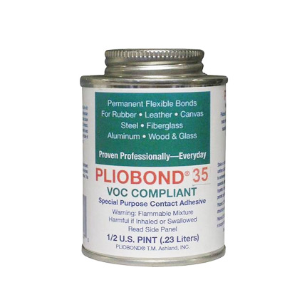 Ashland Pliobond 35 LV Solvent Based Adhesive Tan 0.5 pt Can