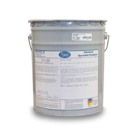 Camie 313B Upholstery Solvent Based Adhesive Clear 5 gal Pail