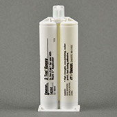 ITW Polymers Adhesives Devcon 2 Ton Epoxy Adhesive Clear 50 mL Cartridge