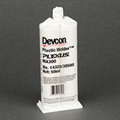 ITW Polymers Adhesives Devcon Plastic Welder Methacrylate Adhesive Straw 47 mL Cartridge