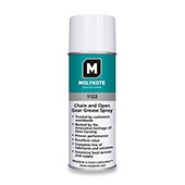 Dow Corning Molykote 1122 Chain and Open Gear Grease Black 312 g Aerosol