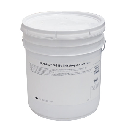 Dow Corning 3-8186 Thixotropic Foam Part A Black 18 1 kg Pail