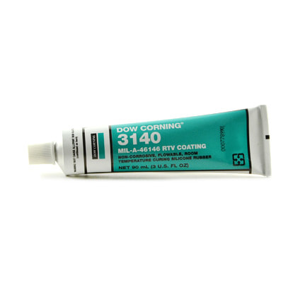 Dow Corning 3140 RTV Silicone Conformal Coating Clear 90 mL Tube