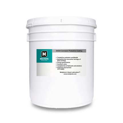 Dow Corning Molykote 3400A Anti-Friction Coating Charcoal 20.4 kg Pail