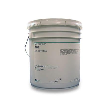 Dow Corning 7091 Silicone Adhesive-Sealant White 25 5 kg Pail