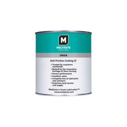 Dow Corning Molykote 3400A Anti-Friction Coating Charcoal 1 kg Can