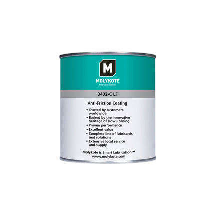 Dow Corning Molykote 3402-C LF Anti-Friction Coating 500 g Can