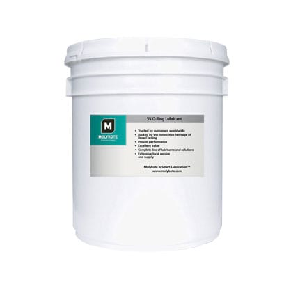Dow MOLYKOTE™ 55 O-Ring Grease Off-White 3.6 kg Pail