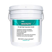 DuPont MOLYKOTE® 44 High Temperature Bearing Grease, Medium, Off-White 3.6 kg Pail