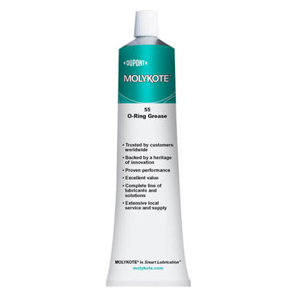 DuPont MOLYKOTE® 55 O-Ring Grease Off-White 150 g Tube