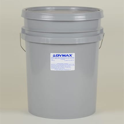 dymax ultra light weld 3 20796 uv curing adhesive clear 15 l pail. Black Bedroom Furniture Sets. Home Design Ideas