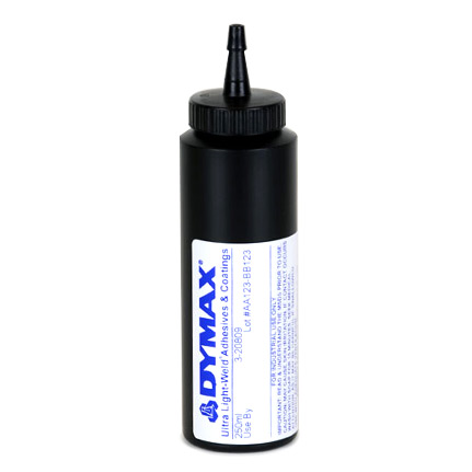 dymax ultra light weld 3 20809 uv curing adhesive yellow 250 ml. Black Bedroom Furniture Sets. Home Design Ideas