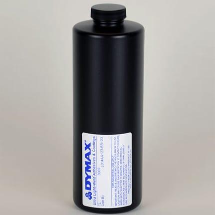 dymax ultra light weld 3069 uv curing adhesive clear 1 l bottle. Black Bedroom Furniture Sets. Home Design Ideas