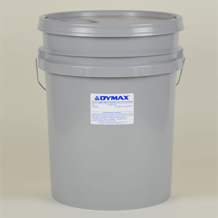 dymax ultra light weld 174 3130 ur uv curing adhesive yellow 15 l pail