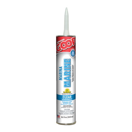 Eclectic Amazing GOOP Marine Solvent Based Adhesive Clear 10.2 oz Cartridge