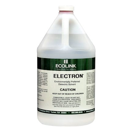 Ecolink Electron Dielectric Solvent Degreaser 1 gal Jug