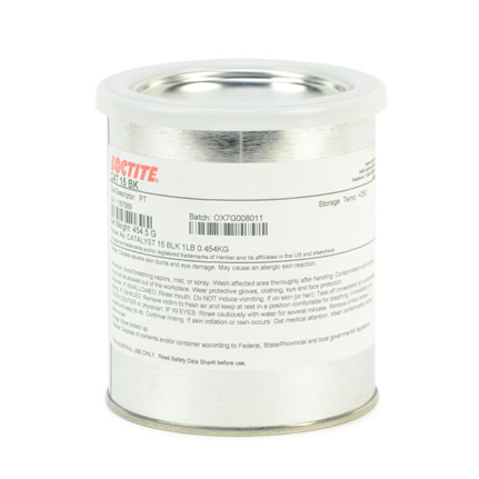 Henkel Loctite Catalyst 15 Black 1 lb Can