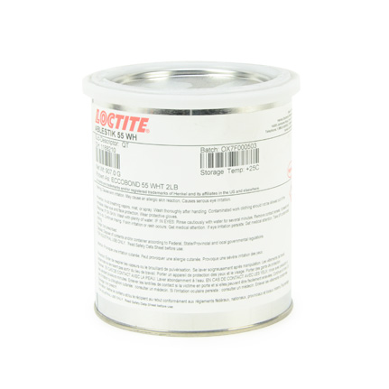 Henkel Loctite Ablestik 55 Epoxy Adhesive Resin White 1 qt Can