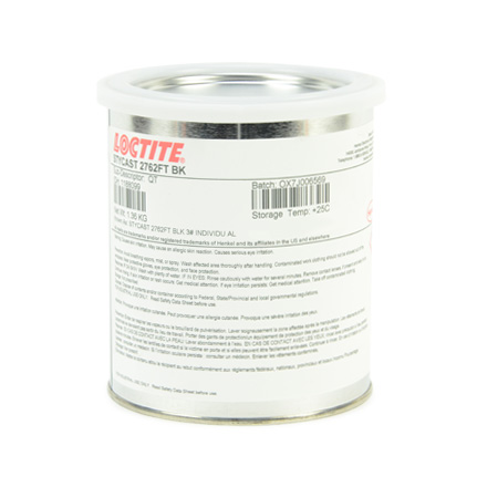 Henkel Loctite STYCAST 2762 FT Thermally Conductive Encapsulant Black 1 qt Can