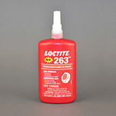 Henkel Loctite 263 Threadlocker Anaerobic Adhesive Red 250 mL Bottle