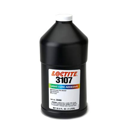 Loctite 3107 light cure adhesive vinyl