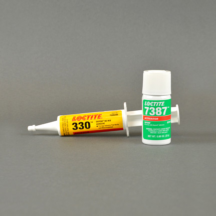 Henkel Loctite 330 Acrylic Adhesive and Activator 25 mL Kit