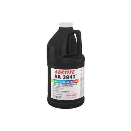 loctite 3943 light cure medical device adhesive clear 1 l bottle. Black Bedroom Furniture Sets. Home Design Ideas