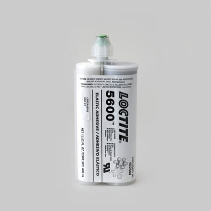 Henkel Loctite 5600 Silicone Adhesive-Sealant Gray 400 mL Dual Cartridge