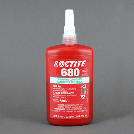 Henkel Loctite 680 Retaining Compound Green 250 Ml Bottle