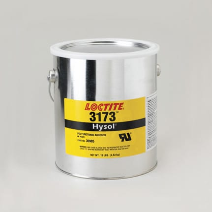 Henkel Loctite Hysol 3173 Polyurethane Adhesive Brown 1 gal Can