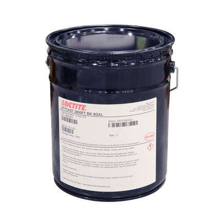 Henkel Loctite STYCAST 2850FT Thermally Conductive Encapsulant Black 22 kg Pail