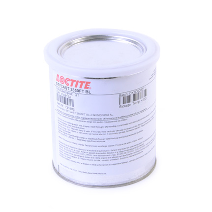 Henkel Loctite STYCAST 2850FT Thermally Conductive Encapsulant Blue 1 qt Can
