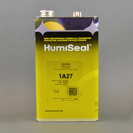 HumiSeal 1A27 Polyurethane Conformal Coating Clear 5 L Can