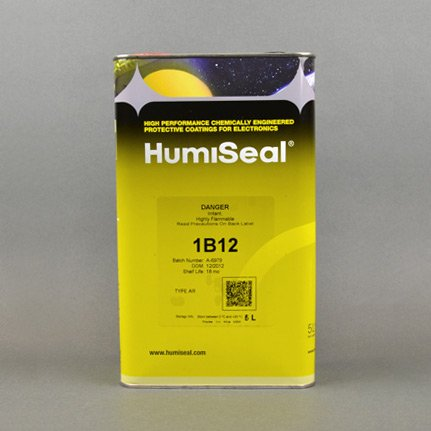HumiSeal 1B12 Acrylic Conformal Coating Clear 5 L Can